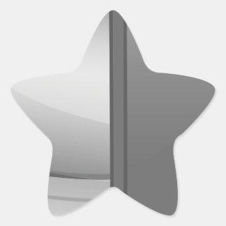 pc-1892 pegatina en forma de estrella