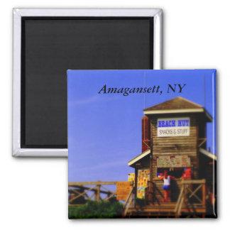 PC Beach Hut, Amagansett, NY Fridge Magnet