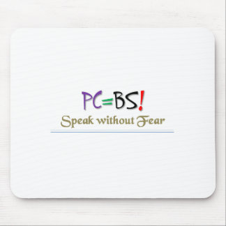 PC=BS! Mousepad