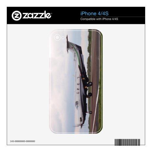 PC de Pilatus 12 SP-NWM Skins Para iPhone 4S