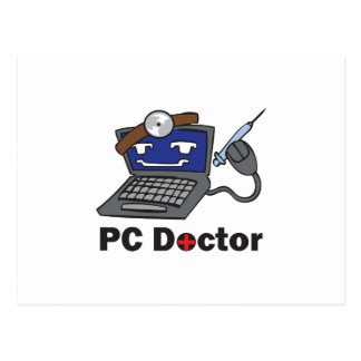 PC DOCTOR POSTCARD
