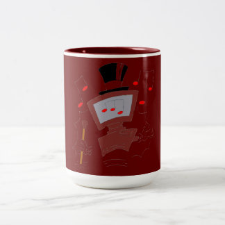 PC-entertainer Two-Tone Coffee Mug