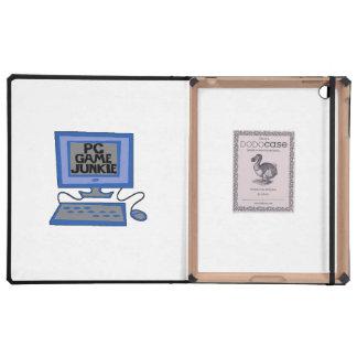 PC Game Junkie iPad Folio Cases
