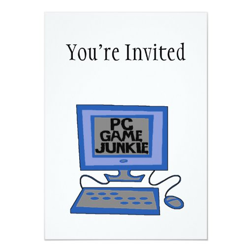 PC Game Junkie Personalized Announcements