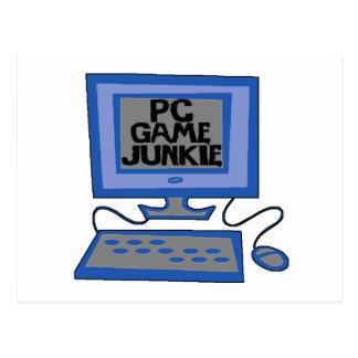 PC Game Junkie Postcard