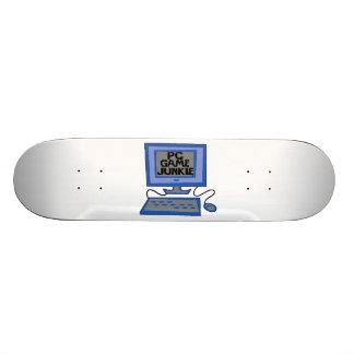 PC Game Junkie Skate Deck