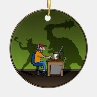 PC Gamer Ceramic Ornament