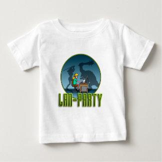 PC Gamer girl LAN PARTY Camisas