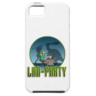 PC Gamer girl LAN PARTY iPhone SE/5/5s Case