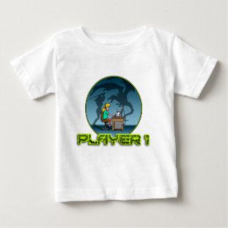 PC Gamer girl LAN PARTY Playera Para Bebé