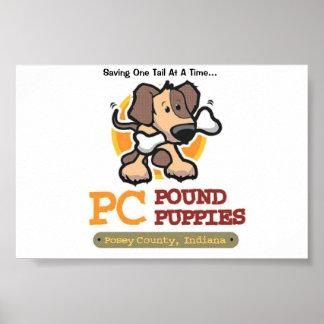 PC Pound Puppies Poster