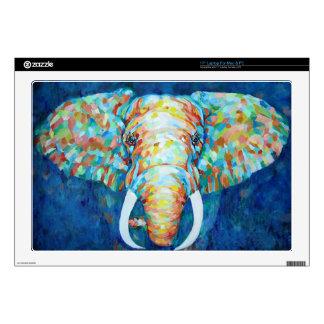 "Pc Skins Elephant Design 17"" Laptop Decal"