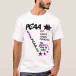 PCAA Men's White Tee