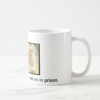 pcardlove, I will not give up on my loved on in... Classic White Coffee Mug