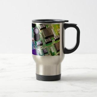 PCB - Printed Circuit Board Stainless Steel Travel Mug