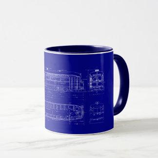 Blueprint coffee travel mugs zazzle pcc blueprint mug malvernweather Gallery