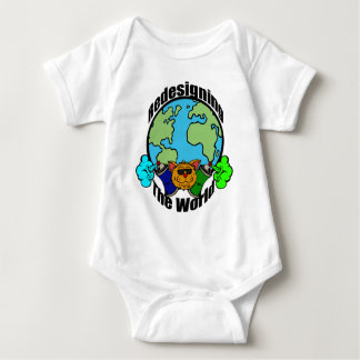 PCD Redesigning The World Logo Baby Bodysuit