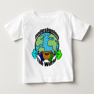 PCD Redesigning The World Logo Baby T-Shirt