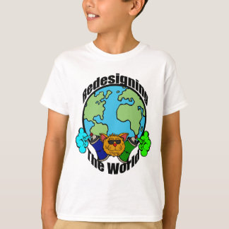 PCD Redesigning The World Logo T-Shirt