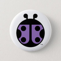 PCDH19 Alliance Ladybug Circle Pin