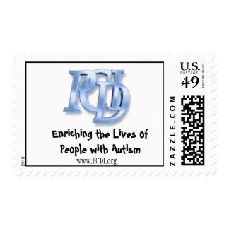 PCDI- Enriching the Lives of People with Autism Postage