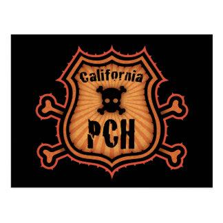 PCH and Crossbones Postcard