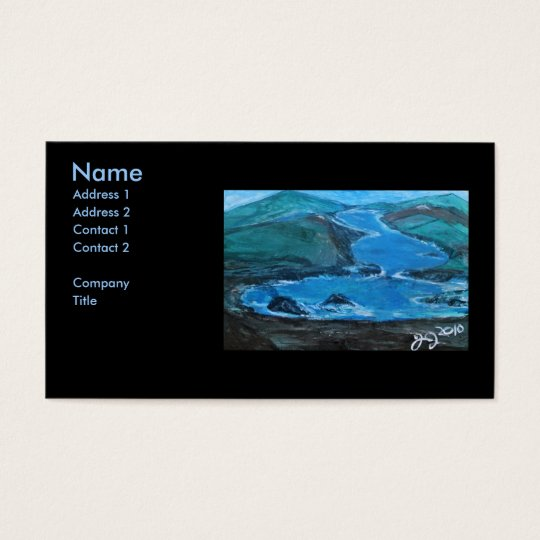 PCH MONTEREY BUSINESS CARD