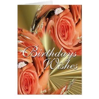 Pch Roses Whirl--customize-any occasion Card