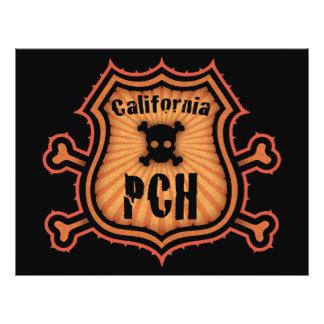 """PCH y bandera pirata Folleto 8.5"""" X 11"""""""