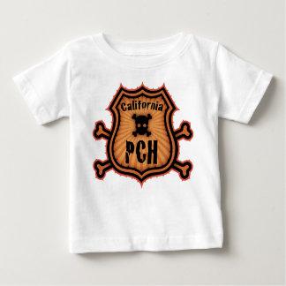 PCH y bandera pirata Playera De Bebé