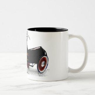 PCHotRod02 Two-Tone Coffee Mug