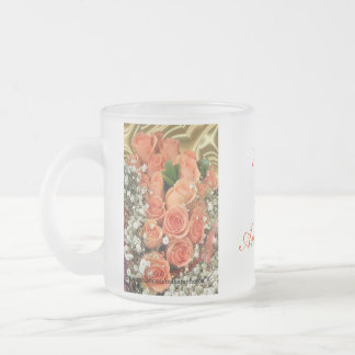 PchRosesMug-customize 10 Oz Frosted Glass Coffee Mug