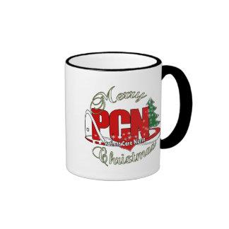 PCN CHRISTMAS Patient Care Nurse Coffee Mugs