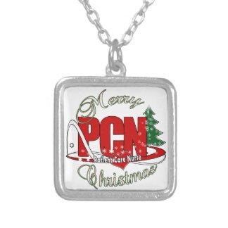 PCN CHRISTMAS Patient Care Nurse Necklace