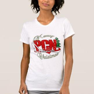 PCN CHRISTMAS Patient Care Nurse Tee Shirt