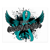 PCOS Awareness 16 Postcard