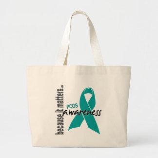PCOS Awareness Tote Bags