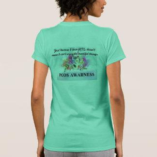 PCOS AWARENESS Enjoying Life Tee Shirts