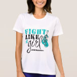 PCOS Awareness Fight Like a Girl Shirts