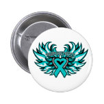 PCOS Awareness Heart Wings.png Pin