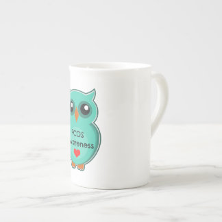PCOS Awareness Owl Mug
