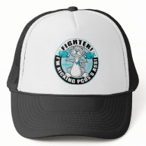PCOS Boxing Cat Trucker Hat