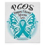 PCOS Butterfly 3 Poster