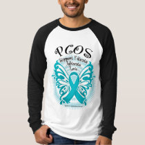 PCOS Butterfly 3 T-Shirt