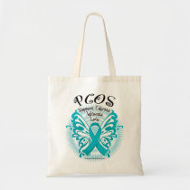 PCOS Butterfly 3 Tote Bag