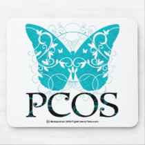 PCOS Butterfly Mouse Pad