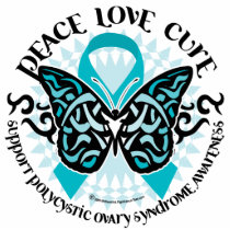 PCOS Butterfly Tribal 2 Cutout