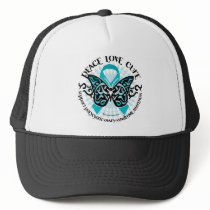 PCOS Butterfly Tribal 2 Trucker Hat