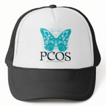 PCOS Butterfly Trucker Hat