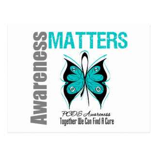 PCOS Cancer Awareness Matters Post Cards